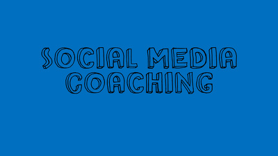 Give a 45 min Social Media coaching session tailored to your requirements