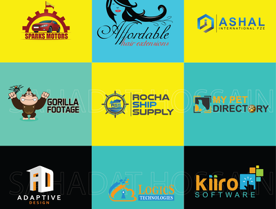 Do new website logo with full stationery design and favicon