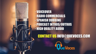 Recording a spanish MALE voice over for you