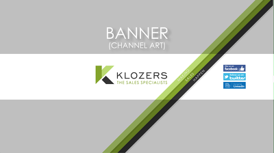 Design your Banner for YouTube/Twitter/Facebook and more!