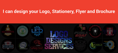 Design your Logo, Stationery, Flyer, Brochure