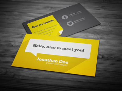 Design an awesome, creative print-ready double sided business card design