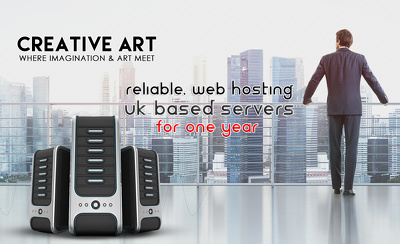 Reliable, Web hosting UK based servers for one year