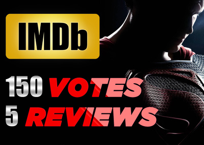 Give you 150 IMDB votes and 5 reviews