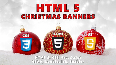 Build you Christmas HTML 5 banners