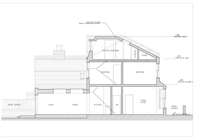 Provide a complete set of building reg (Construction Detailed drawings)