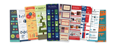 Send you 49 infographic templates in Powerpoint format and 15 email templates