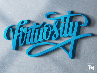 Custom hand lettering and calligraphic logos