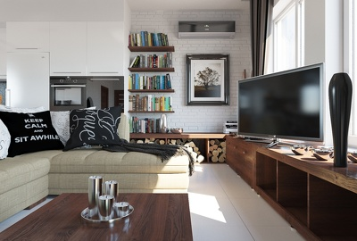make photorealistic 3d renderings for your interior project