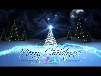 Create this magical Christmas/New Year special logo animation