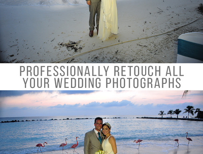 Professionally Photoshop your Wedding Photos