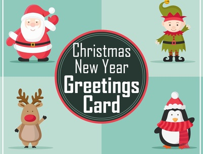 Design a festive Christmas / New Year Card