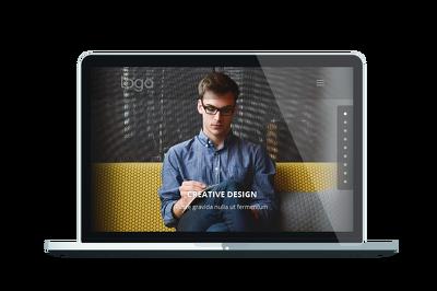 Create a 3 page WordPress website using DIVI theme