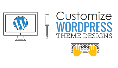 Wordpress theme customization with security protection from hackers
