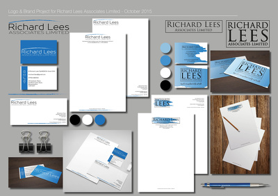 Design you a bespoke logo and suite of business stationery