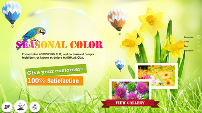 Design 4 custom attractive high quality slider banners for your website