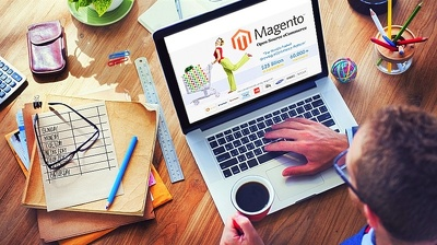 Design a bespoke responsive ecommerce website in Magento