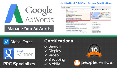 Setup Adwords Search Campaign (Keyword Targeting with Text Ads)