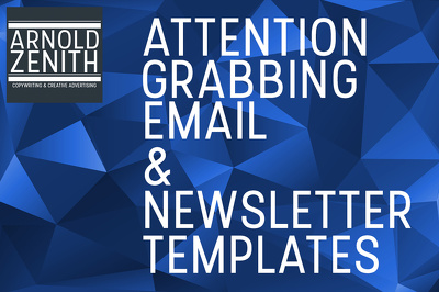 Produce an attention-grabbing email blast or newsletter template