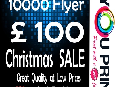 Design and print A5 130Gsm 10000 Flyers