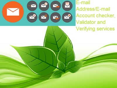 Verify 500 Email addresses (E-mail Account checker and Validation Services)