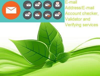 Verify 10,000 Email addresses (E-mail Addresses Verification)