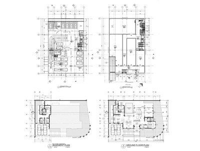 Draw/Convert different hand sketched plans into Detailed 2D Autocad Drawings