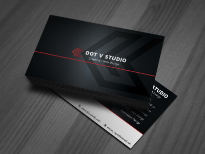 Design a double sided business card with unlimited revisions and QR Code