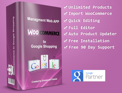 WooCommerce to Google Shopping Application