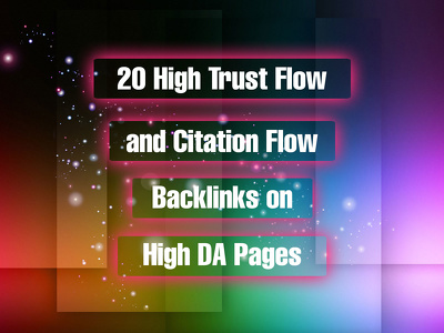 provide 20 high Trust flow and citation flow blog comments on high Domain Author