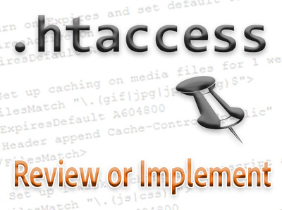 .htaccess file review or implementation