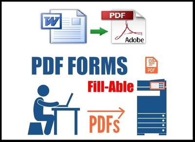Edit PDF or Create Fillable pdf Form