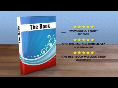 Create a Book Promotion Video Animation