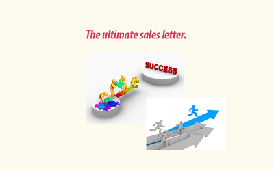 Write your sales message  email social post