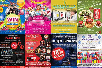 Design an awesome flyer for you just