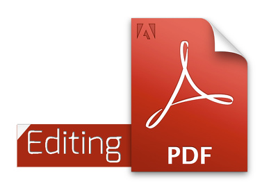editing anything in PDF files