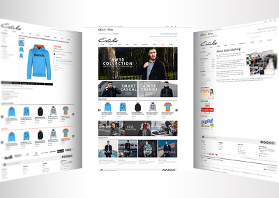 Create amazing ebay store template