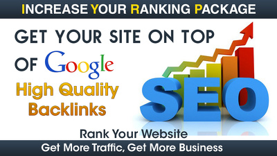 Boost Your Website Ranking To The TOP Position on Google, Bing, Yahoo