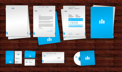 Design your Stationery (business card+letterhead+envelope )
