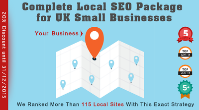100% White Hat Monthly Local SEO for UK Small Businesses [COMPLETE PACKAGE]