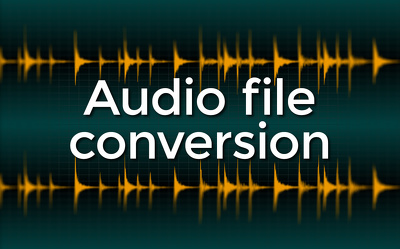 Convert 10 audio files within 24h
