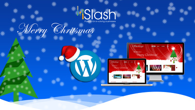 Design a new Christmas themed Slider for your website