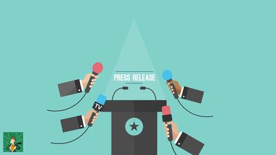 Write an EARTH SHATTERING 500 word press release