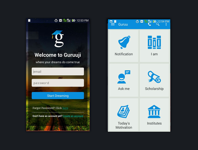 Convert your idea into an Native Android App