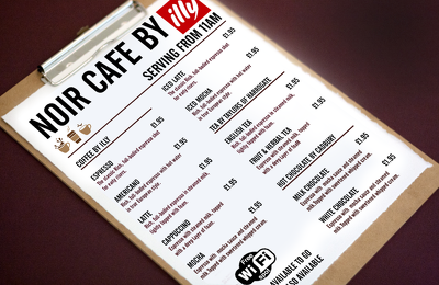 Design beautiful menu layouts for your bar, cafe or restaurant