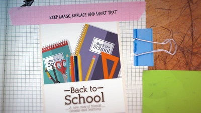 Design this Back to School video