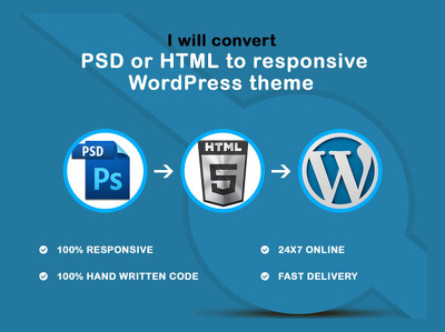 Create a Premium Responsive WordPress Theme from your PSD or HTML