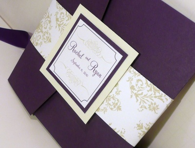 Design you a bespoke wedding card for your desire day with unlimited revisions