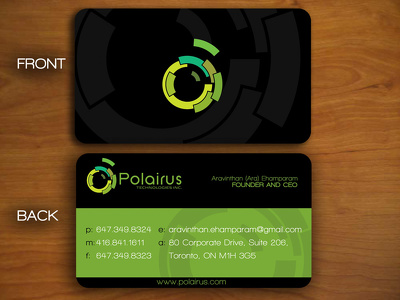 Design Double Sided Professional Business Card Within 12 hours