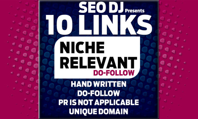 do 10 Niche Relevant Blog Comments On actual Do-follow pages
